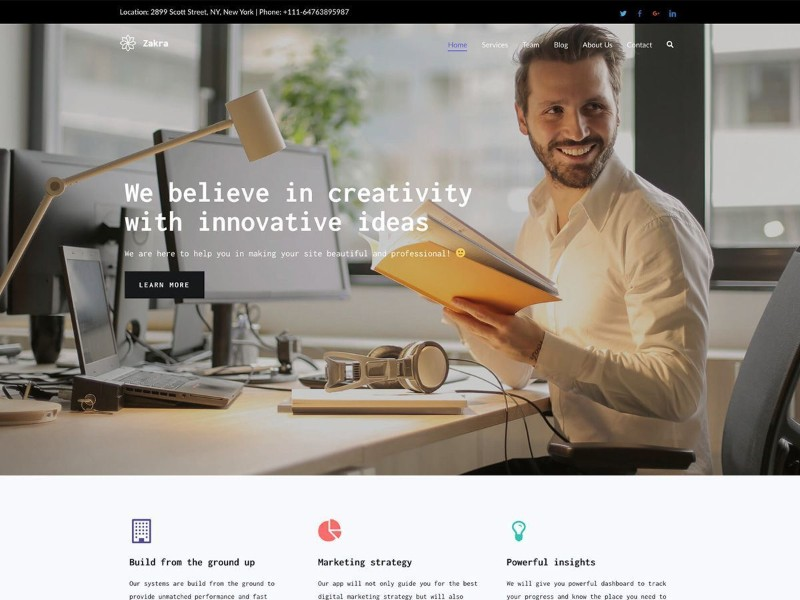 Which-are-the-fastest-free-WordPress-Themes-Zakra