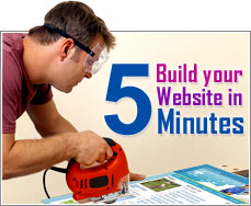 Build Your Site in 5 Minutes